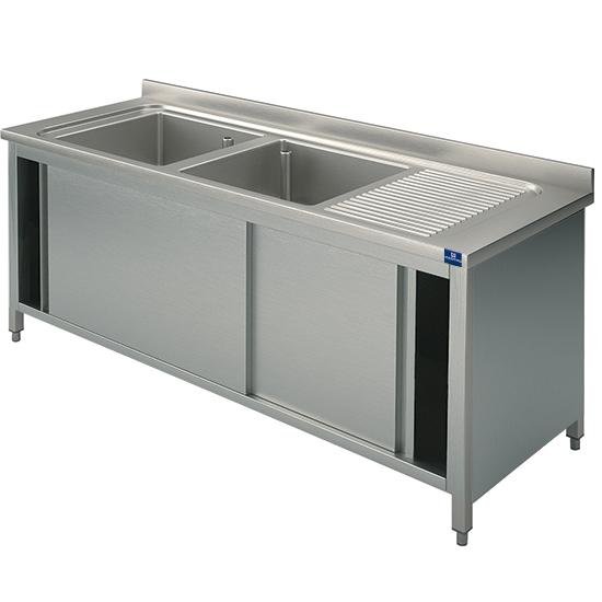 Virtus Group GmbH | Catalogo | GLA0030 - lavello armadiato, 2 vasche ...